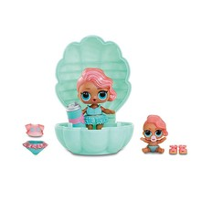 Мини-кукла сюрприз MGA Entertainment LOL Lil Sisters Основная кукла и сестренка (в бирюзовой жемчужине)