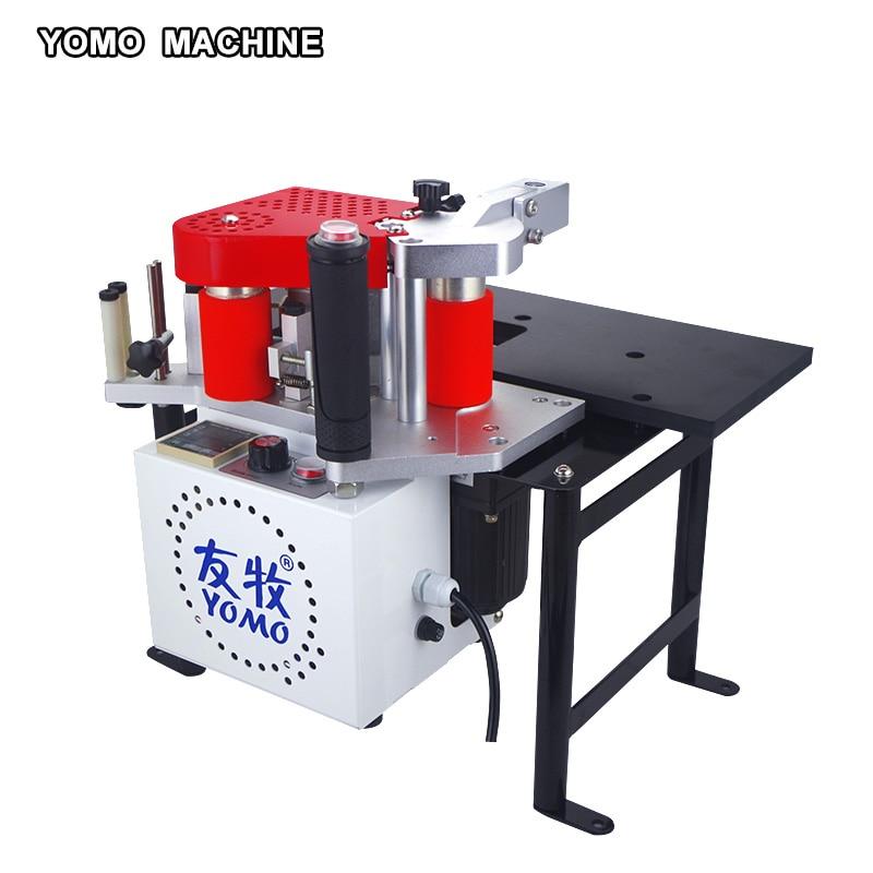 MY-60 portable edge bander machine double sided glue woodworking PVC edge banding