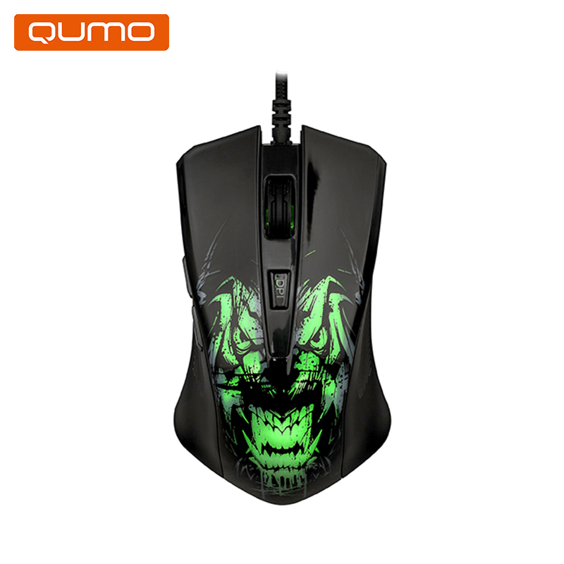 Фото - Mouse gaming Qumo Rampage M49 gaming mouse qumo gremlin m37