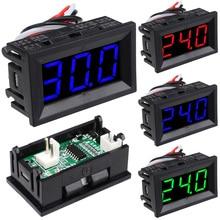 Amperometro DC0-10A/0-50A/0-100A Display Digitale Amperometro 4 Filo 0.56