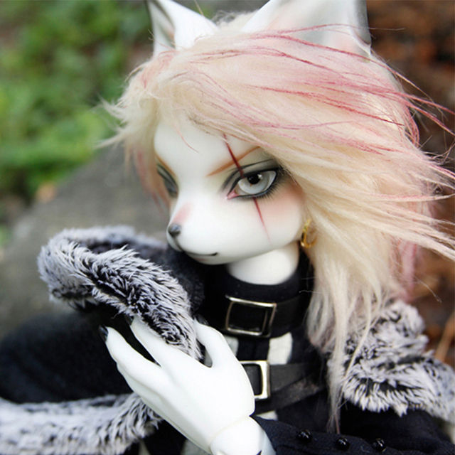 HeHeBJD Oskar Creature Claw  1/4 resin bjd body model reborn free shipping 2