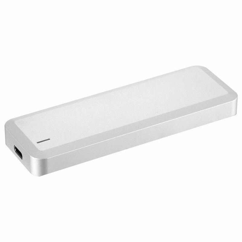 Uneatop UT63600U3C USB 3.1 Type-c vers PCIe M.2 NGFF NMVE SSD Externe En Aluminium Boîtier Pour Ordinateur Portable Argent Type