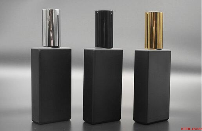 3colors Black Glass Perfume Spray Bottle ,Travel Atomizer 50ML Empty Refillable Perfume Bottle886# 10ml 15ml 30ml 50ml 100ml empty glass perfume spray bottle diy elegant black glass lotion pump bottle empty emulsion container