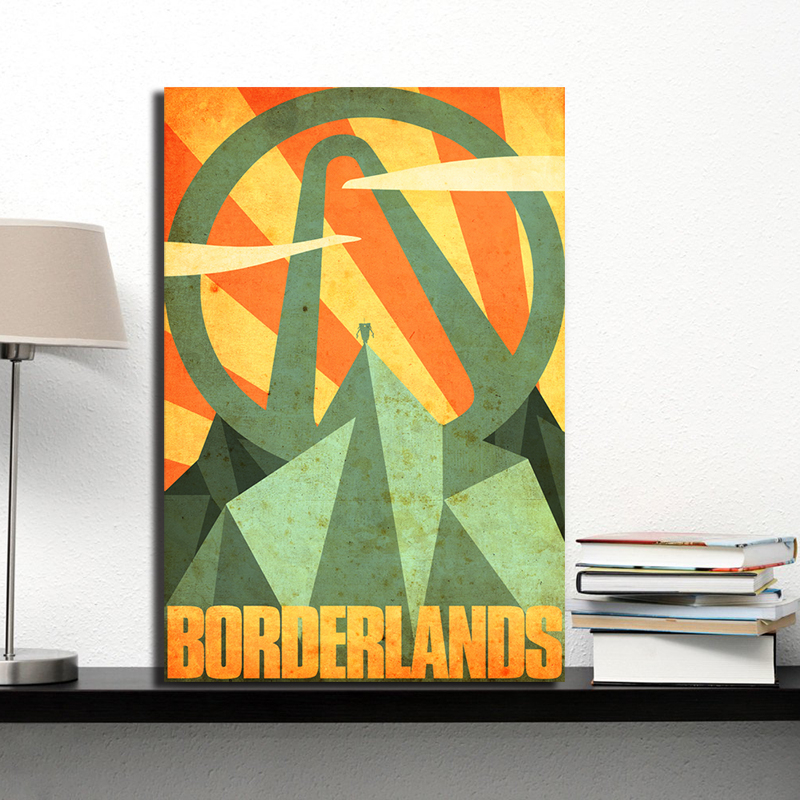 Video Games Borderlands Game Canvas Prints Picture Modular Paintings for Living Room Poster on The Wall Home Decor image