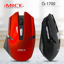 IMICE Draadloze Gaming Muis 6 Knop Optische Professionele Muis 2000 dpi Game Machine Computer Muis voor PC Notebook PC G-1700(China)