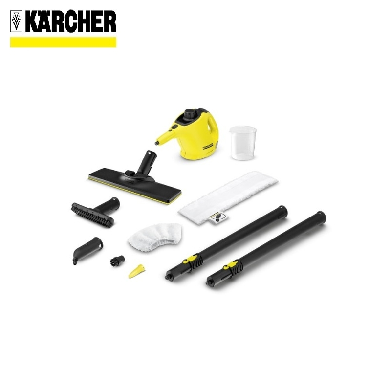 Steam cleaner KARCHER SC 1 EasyFix  (yellow) *EU-II Steam generator Surface disinfection Indoor air cleaning Window cleaning handheld steam cleaning machine high temperature kitchen cleaner bathroom sterilization washing machine sc 952