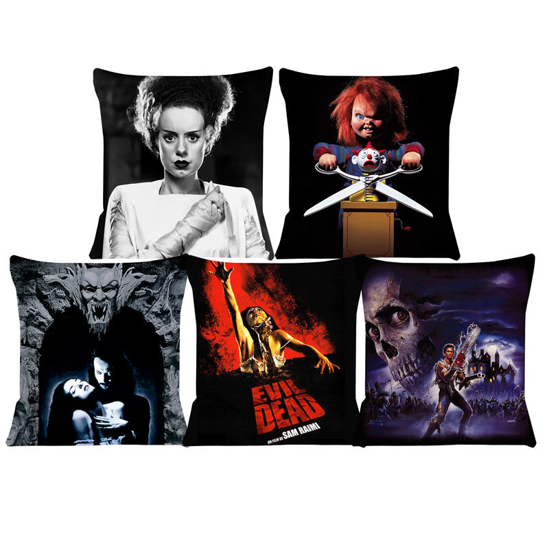 Cushion Cover EvilDead Movie Stills Pillow For Chairs Home Decorative Cushions For Sofa Throw Pillow Cover SJ-061