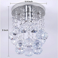 Modern lustre LED Crystal ball chandelier crystal lamp E27/26 Chandeliers Lighting Fixture Pendant Ceiling Lamp Crystal Lighting