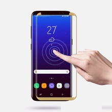 ФОТО 3d curverd screen protector for samsung galaxy s8 plus & s8 tempered glass full protective screen protector for galaxy s8 note8