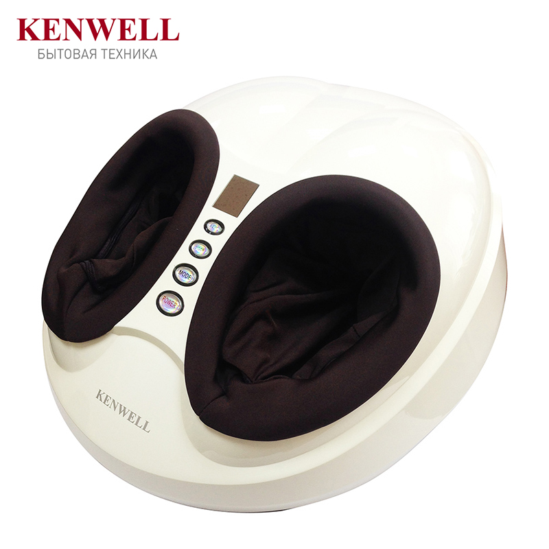 KENWELL BM-100 Foot massager Massage & Relaxation 40W 4 work programs 3 levels of massage intensity 3D massage kanglang 4d multi function electric foot massager circular massage airbags heat scrap leg machine old man leg massager device