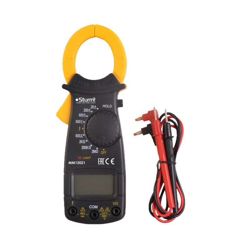 Digital Multimeter Sturm! MM12021 5 in 1 digital multimeter sound level humidity luminosity temperature lcd ac dc multimeter volt amp ohm tester em5510 all sun