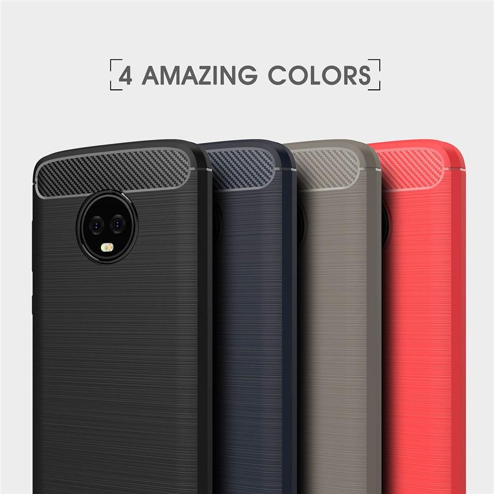 Роскошные противоударный ТПУ Мягкий силиконовый чехол тонкий чехол для Motorola <font><b>Moto</b></font> <font><b>G3</b></font> G4 G5 G5S G6 плюс полный защитный телефон сумка случаях