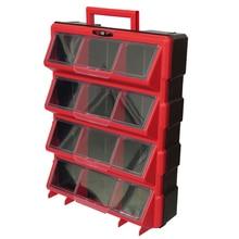 12 ящиков, чехол для хранения инструментов, пластиковые детали, оборудование для хранения, сетка, чехол для шкафа, ящик для инструментов