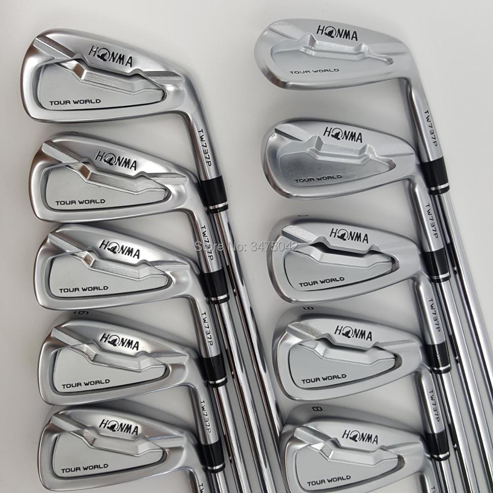Golf Clubs de golf de fer HONMA World Tour TW737p fer groupe 4-10 w (10 PCS) Couleur argent