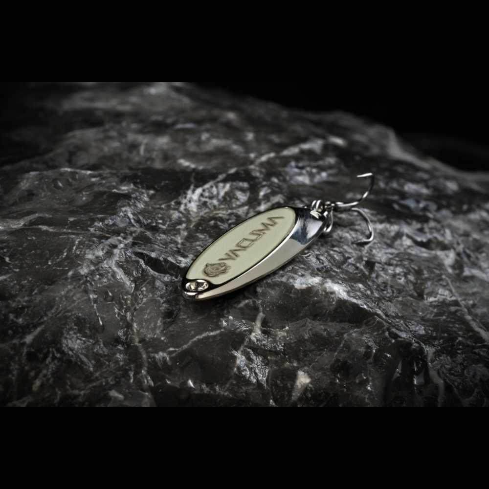 WLure 10 גרם 15 גרם A GT-BIO תת מותג Yacuma כסף זהב ציפוי גליטר השתקפות שטוח מתכת גוף עם פחות רוח התנגדות SP258