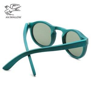 Image 4 - high quality Handmade Bamboo fashion sunglasses woman luxury Polarized UV400 sunglasse Bamboo Wood  Beach Sunglasses for man
