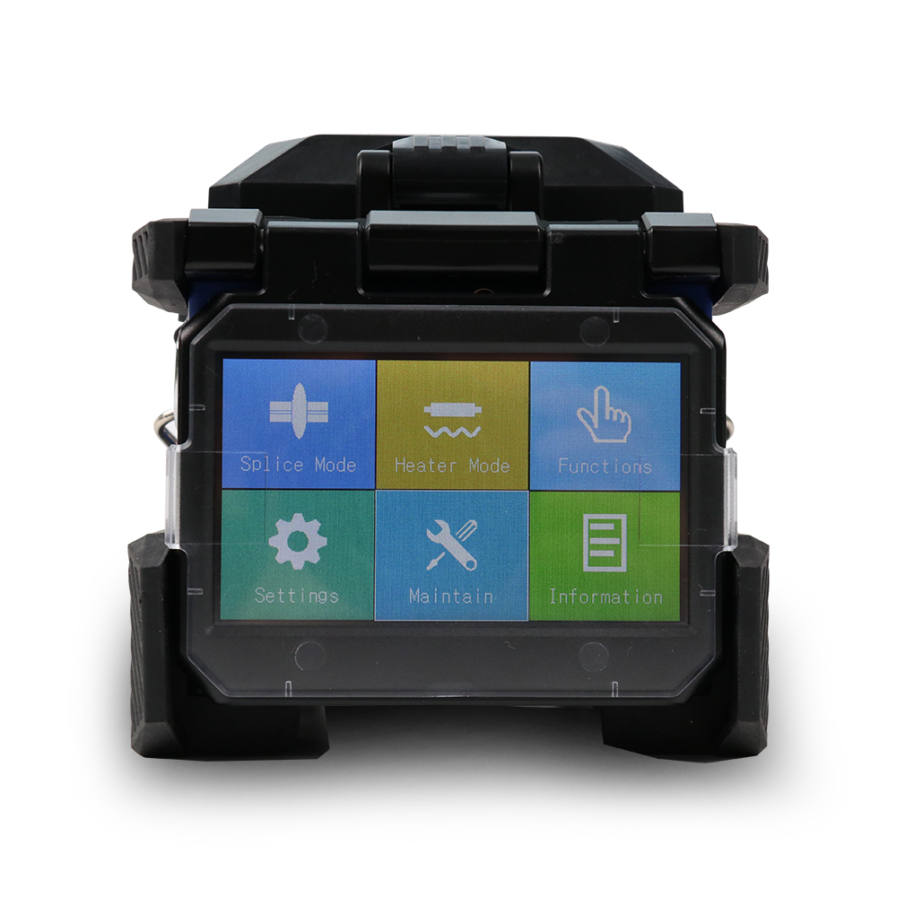 Image 3 - Komshine FX37 core alignment 6 motors fusion splicer with 7s splicing time FTTH optical fiber joint machine-in Fiber Optic Equipments from Cellphones & Telecommunications