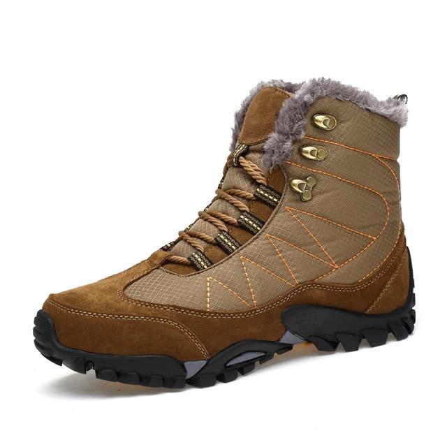 € 83.03 | : Comprar Invierno de Los Hombres Al Aire Libre Senderismo Botas Deportivas de Algodón Caliente Zapatos de Los Hombres del top