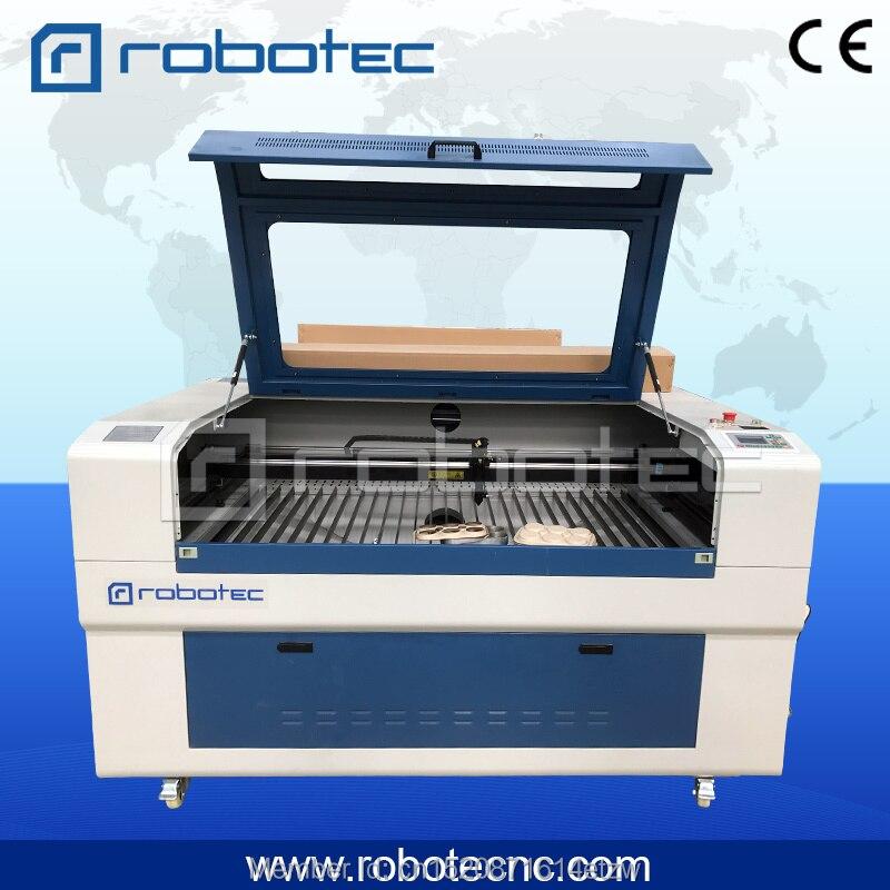 Découpeuse de laser de forces de défense principale de robotec/CNC 1390 1410 coupeur de laser de 1610 CNC découpeuse de laser de 80 w/co2 pour le mdf