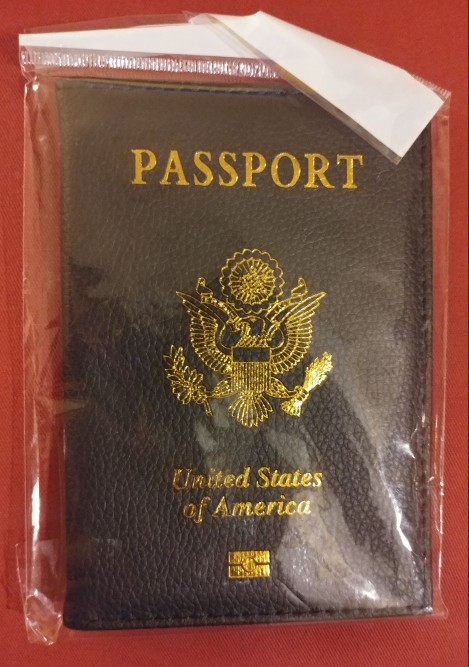 Travel PU Leather Passport Cover Personalised Women Pink USA Passport Holder American Covers for passport Girls pouch Passport photo review
