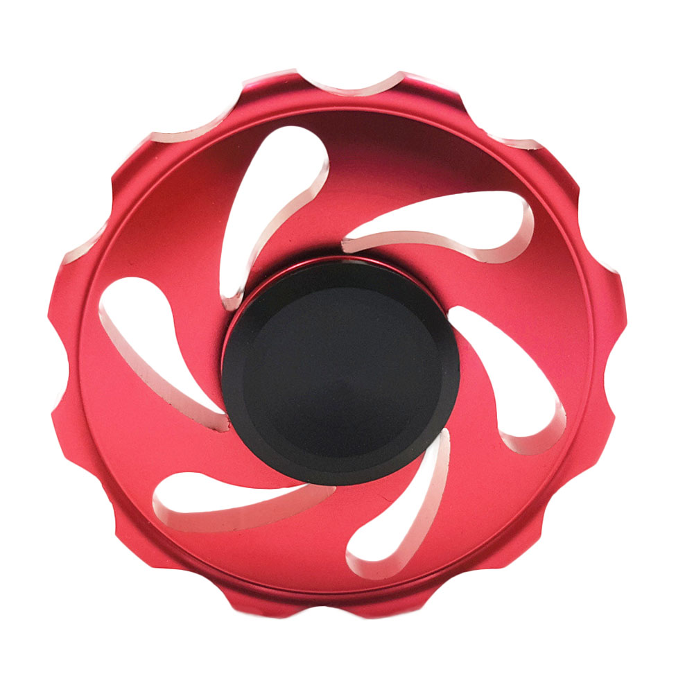 Wind and fire wheel Fingertip Gyro Decompression Fidget spinner EDC Tool Hand Anxiety Stress Relief Toys