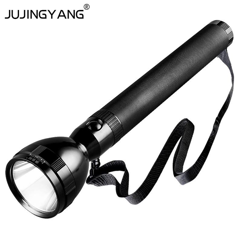 Super bright charge aluminum alloy torch outdoor waterproof lighting long-range security patrol LED Flashlight fashlight nktech super bright nk 9t6 9x