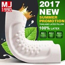 HOT Thailand Import Natural Latex Cervical Vertebrae Health Care Orthopedic Massage Natural Latex Pillow Pillow Case Pillow Core