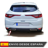 Moldings for Exhaust for Megane 4 2016 -