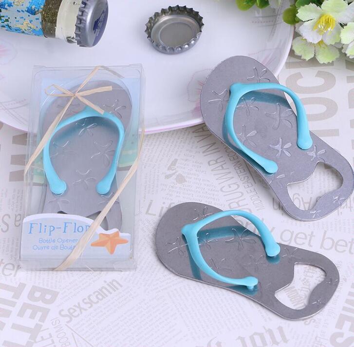flip flops bottle opener starfish slippers bottle opener wedding bridal shower favor guest gift for men