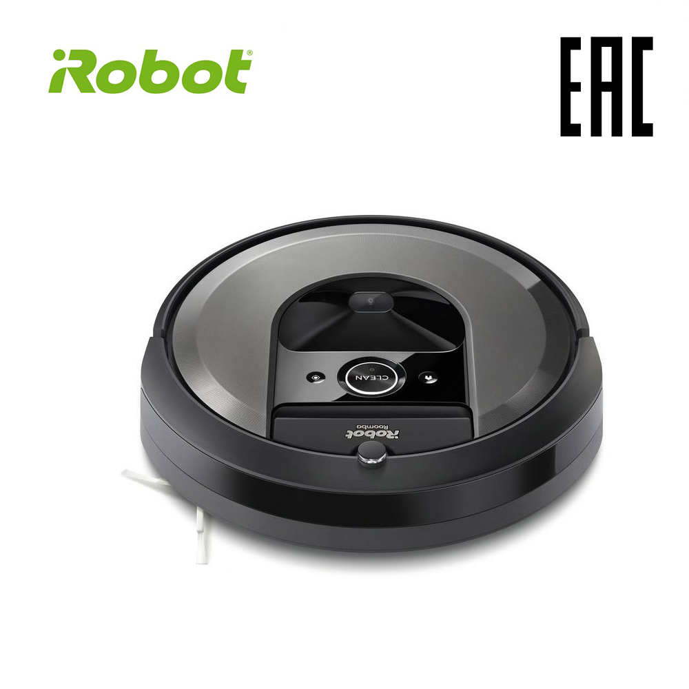 цена на iRobot Roomba i7 High Suction Electric Automatic Robot Vacuum Cleaner Sweeping Dust Sterilize APP Floor Cleaning Home Household
