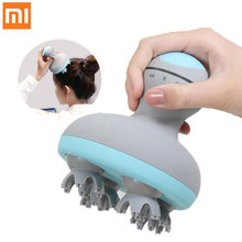 Xiaomi Mini Head Massager Brush Mijia Electric 3D Stereo Massager Brush IPX7 Waterproof Four Wheel Rotation from Youpin