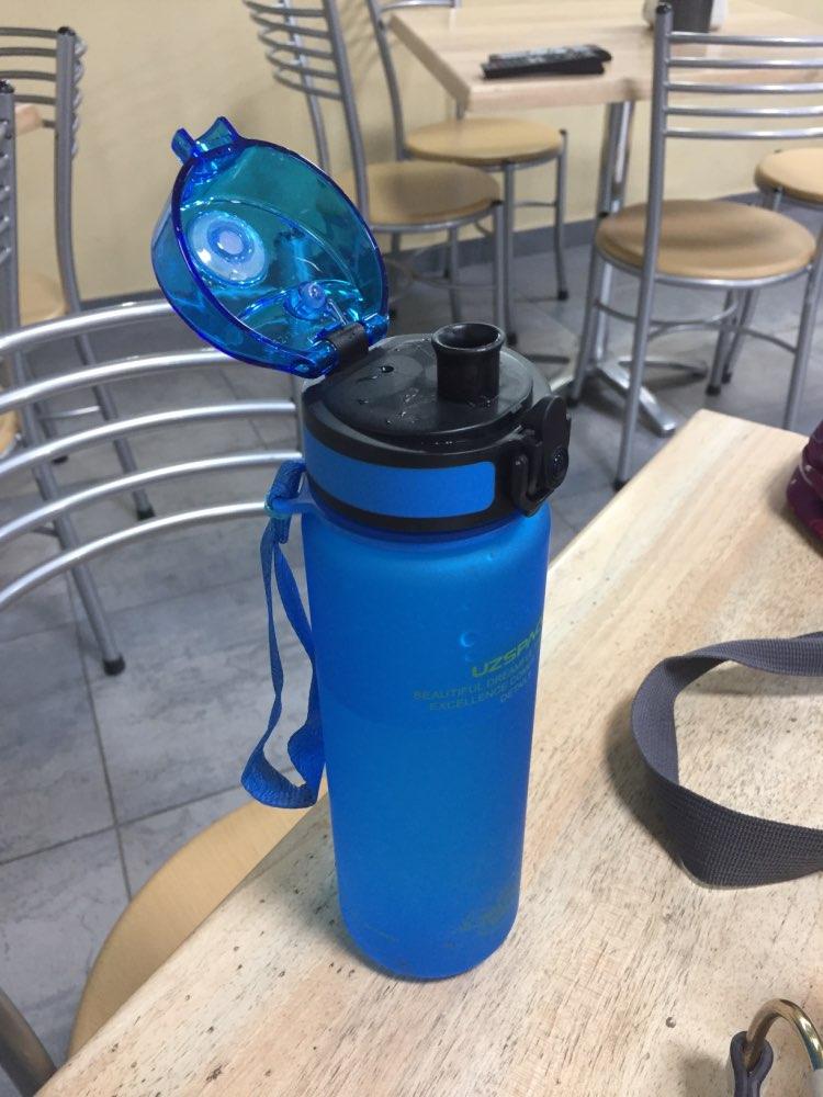 Water Bottles 500/1000ML Shaker Sports Leakproof Outdoor Camp Hiking Drink My Plastic Bottle for water Tritan Drinkware BPA Free-in Water Bottles from Home & Garden on AliExpress