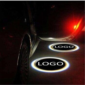 JingXiangFeng 2 pcs Case For mopar For man Car Door Welcome Light Car LED Laser Logo Ghost Shadow Light Warning lights