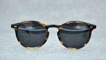 2018 New OLIVER PEOPLES Sunglasses For Men Women OV5241 Top Quality Round Vintage Sun Glasses Polarized Zonnebril Mannen UV400