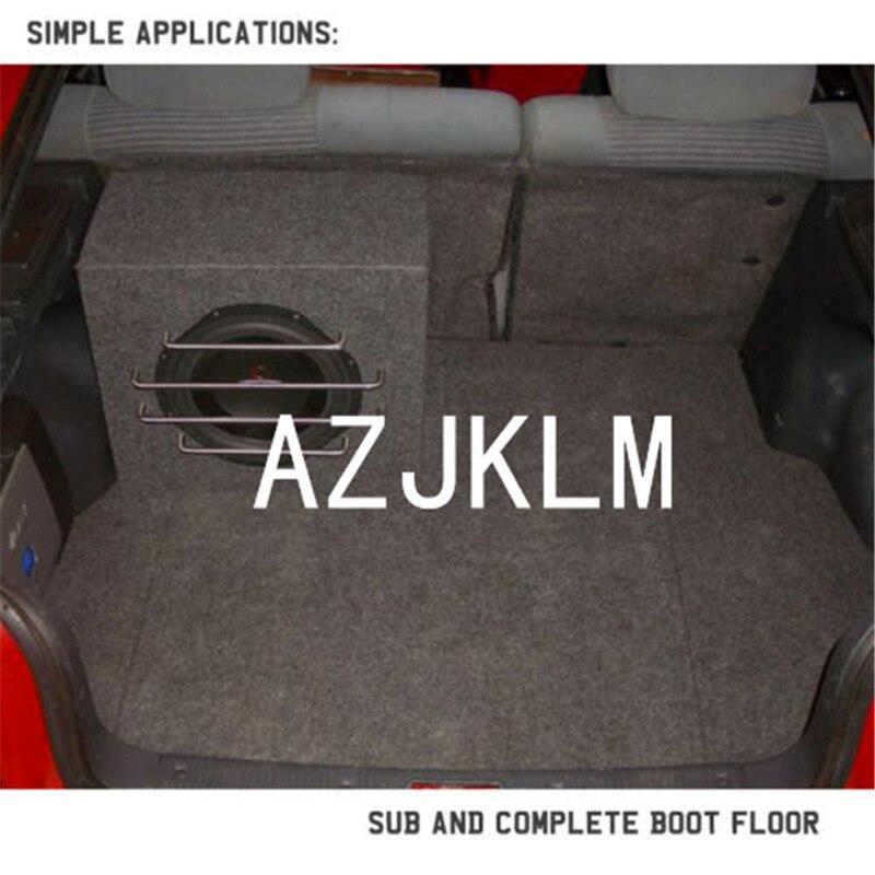 2M Width X 3M Car Automotive Underfelt To Suit Moulded Gray Felt Carpet Trunk Liner For Speaker Box Floor Protector Guard Trim