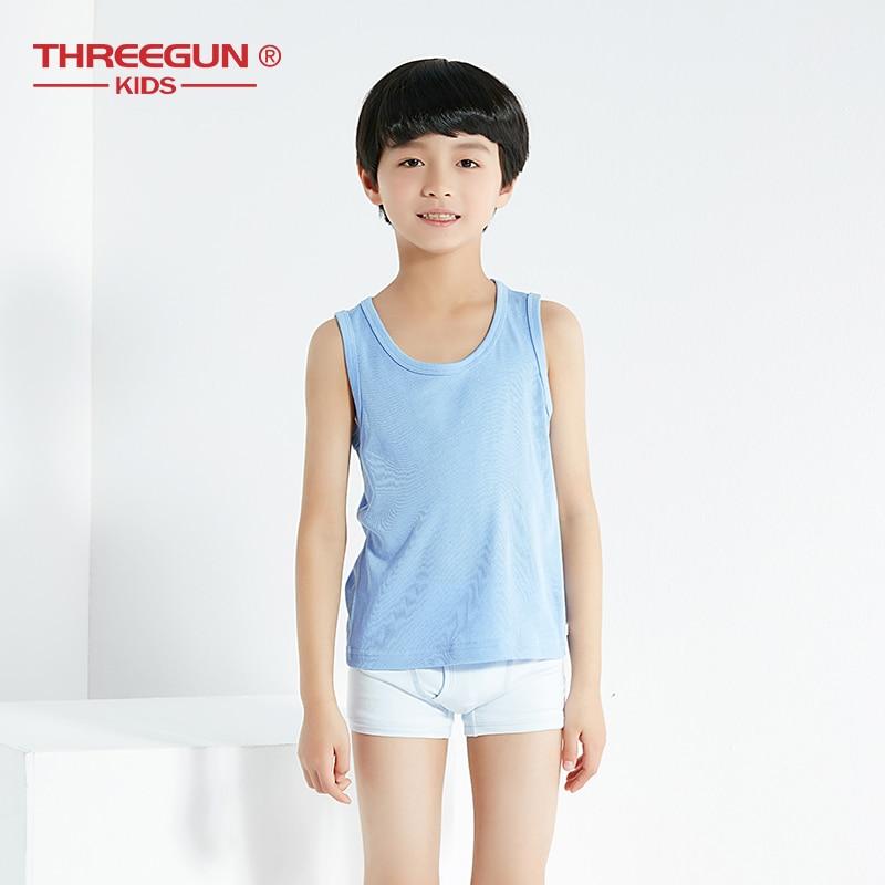 SOFTY/® Kid Children Boy Girl Thermal Winter Warm Sleeveless Vest Top School White