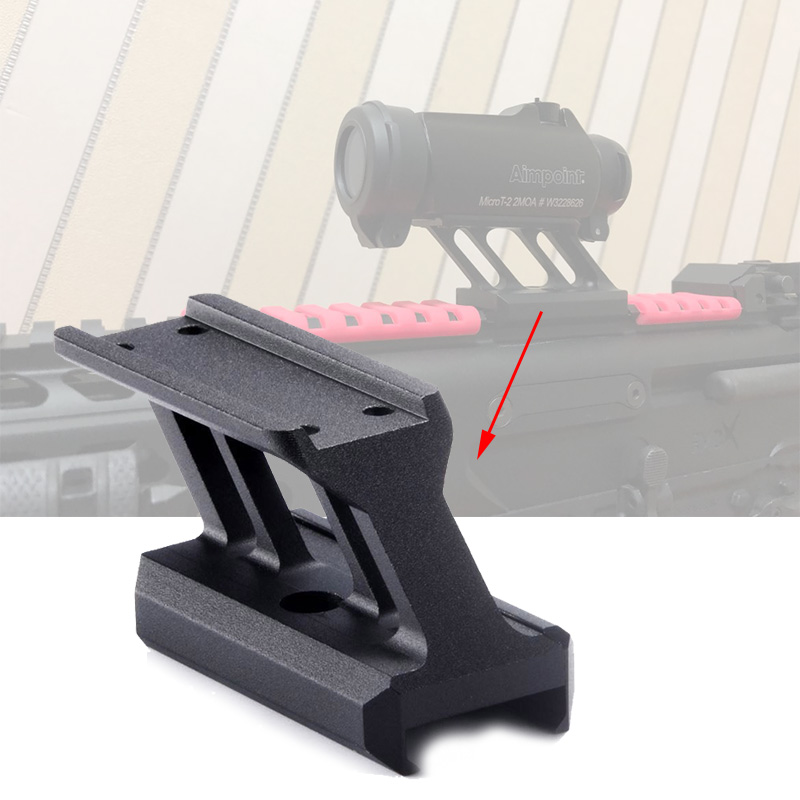 Fyzlcion Tactical hunting <font><b>Scope</b></font> Mount Airsoft <font><b>T1</b></font> / T-1 / T2 / T-2 / Target <font><b>Red</b></font> <font><b>Dot</b></font> Sight Hunting accessories image