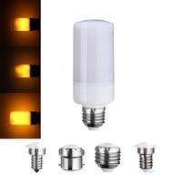 Newest LED Lamp Bulb E27 E26 E14 E12 B22 Decoration Lamp Three Mode Flickering Flame Effect