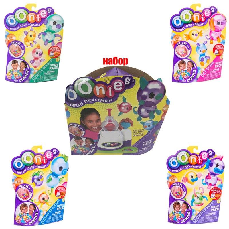 Schnellste Lieferung Hohe Qualität Magie Oonies Onies Onoies Ballon Diy Handgemachte Kreative Klebrige Spaß Blase Inflator Spielzeug Onise