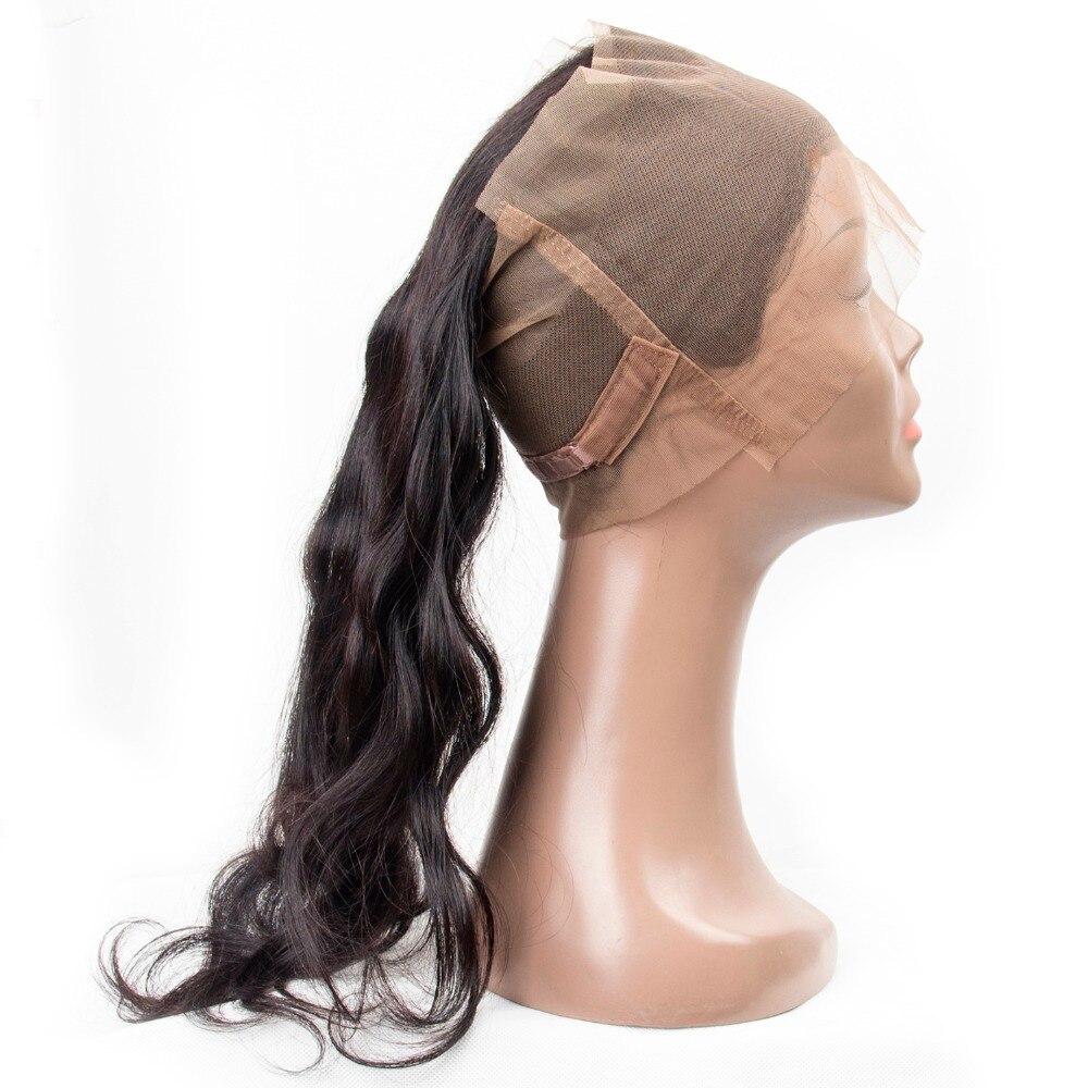Originea 1 pc/lot Vague De Corps Remy Cheveux Humains 360 Dentelle Frontale Fermeture Pour Salon Remy Vague de Corps De Cheveux Humains Frontale 360 Fermeture
