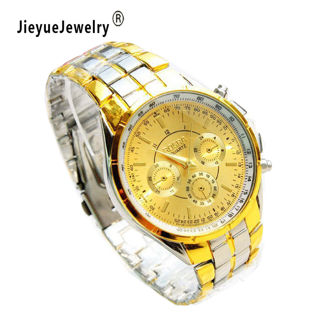 Men's watch Quartz watches Gold Wrist Watch Men Top Brand Luxury Famous Male Clock Golden Wristwatch Relogio Masculino chenxi wristwatches gold watch men watches top brand luxury famous male clock golden steel wrist quartz watch relogio masculino