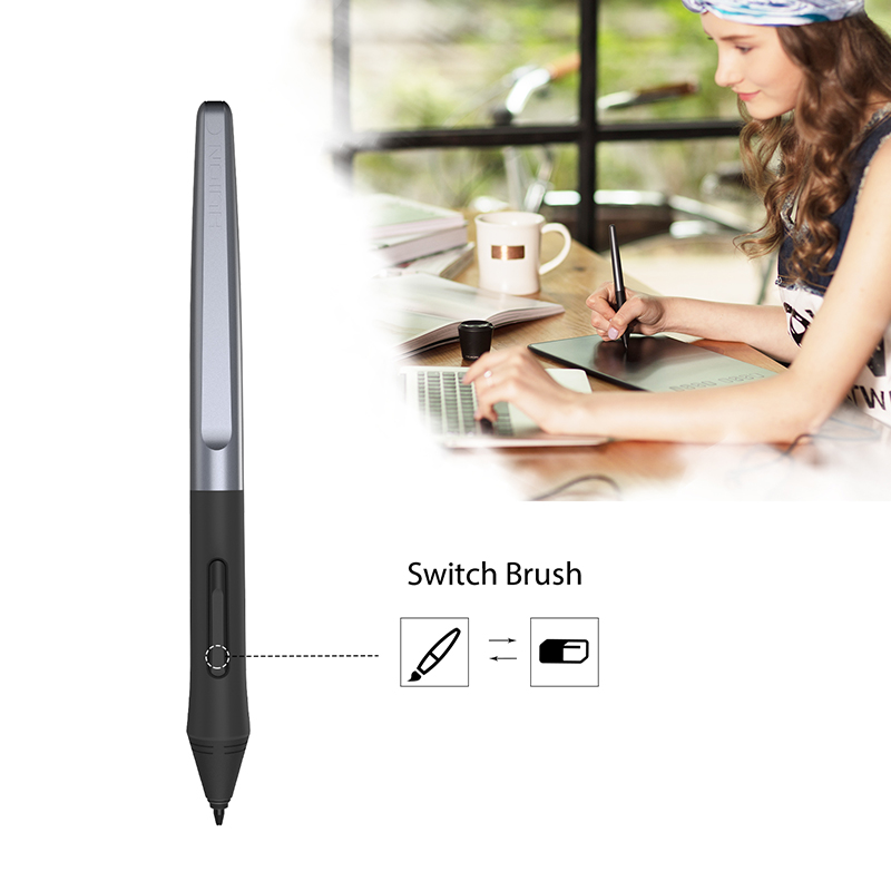 HUION PW100 Battery-free Pen For Huion Digital Graphic Tablets H640P/H950P/H1060P/H610PRO V2