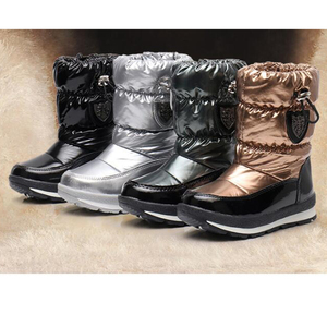 Image 5 - Children Boots For Girls Boys fashion snow boots waterproof sport boot keep warm Children shoes Non slip Leisure Flat boot mm191