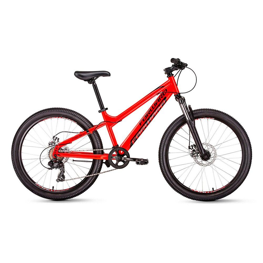 Bicycle FORWARD TITAN 24 2.0 disc (24 6 CK. Height 13 ) 2018-2019 велосипед forward titan 24 2 0 disc 13 красный