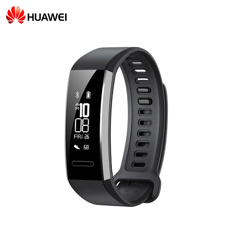 Wearable smart bracelet HUAWEI Band 2 Pro makibes b15p smart bracelet black