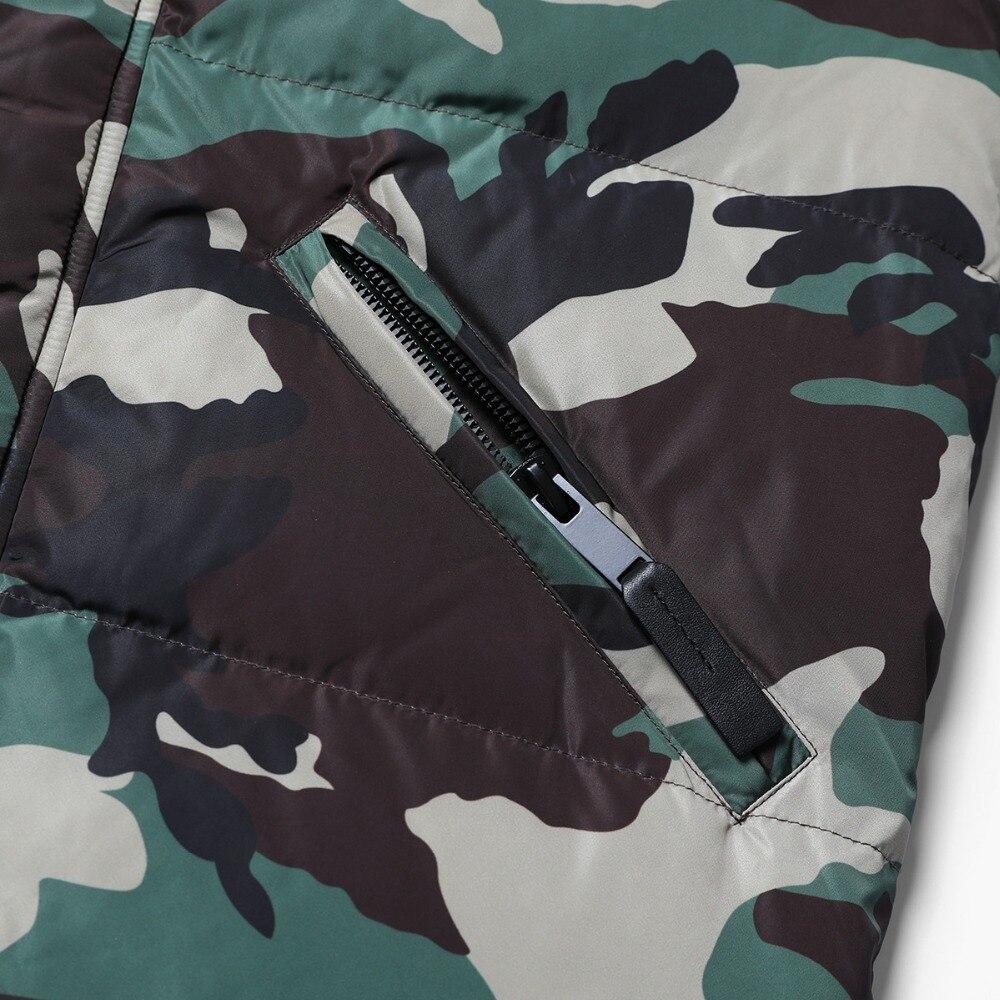 Camouflage Duvet Taille Hiver 2018 Simwood Plus 180291 Hommes Veste Manteaux De 90 Doudounes La Mode Marque Gris Casual Outwear ZtZPnqR