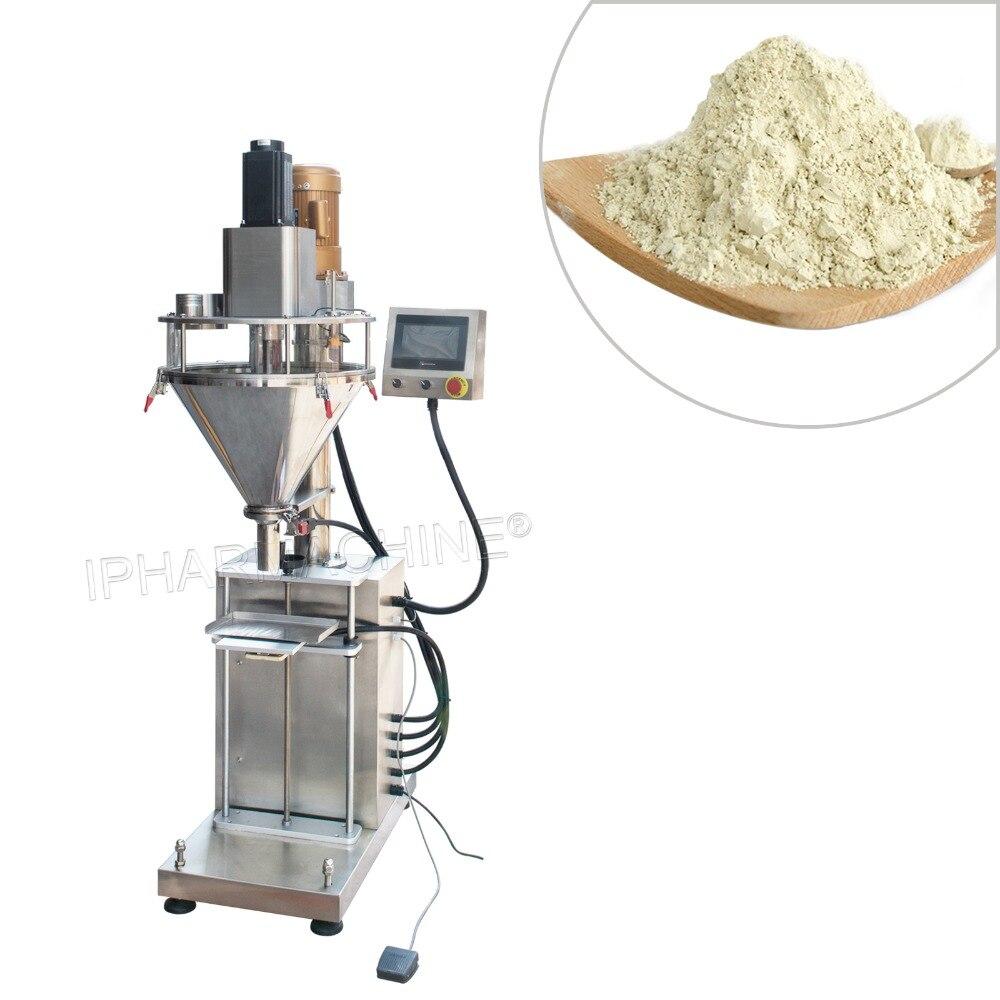 New product! Semi automatic auger powder filling machine HZF B for fertilizer, flour, milk powder, detergent, granular materials