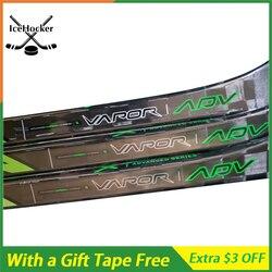 Palo de Hockey sobre hielo modelo avanzado de VAPOR 100% fibra de carbono con cinta gratis con agarre SR/INT 100% P92/P88/P28 envío gratis