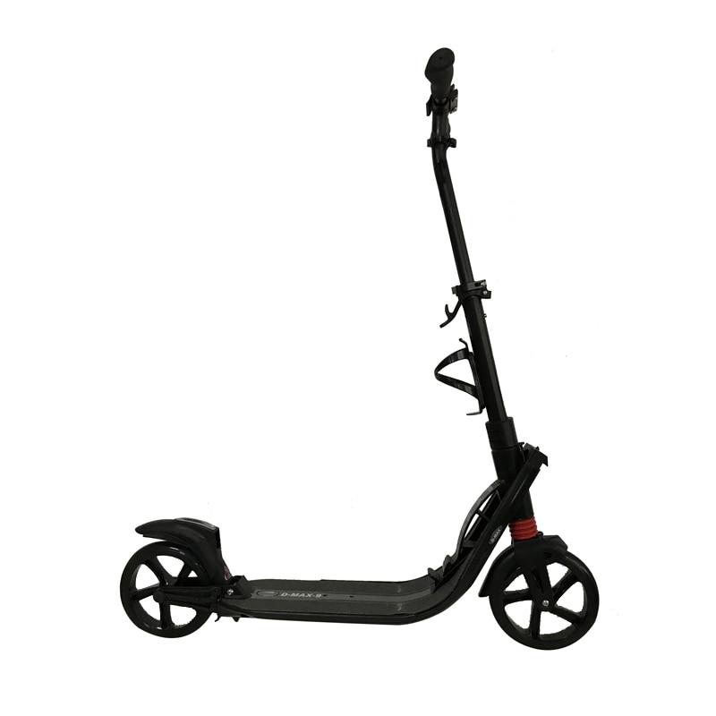 Adulto crianças pontapé scooter dobrável PU 2 rodas de transporte urbano campus esportes ao ar livre todo o alumínio