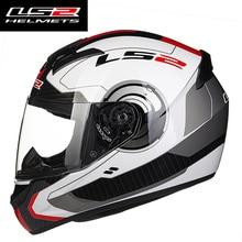 Новый LS2 FF352 полный шлем rcycle для мужчин и женщин Гонки путь LS2 casco moto шлем в форме черепа ls2 шлем для мотокросса